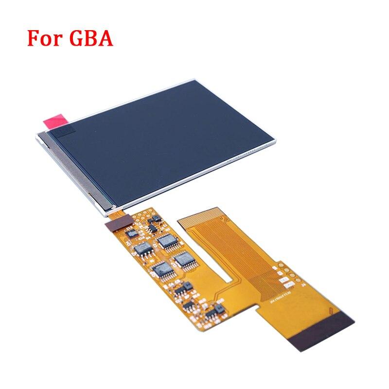 Kits de reemplazo de pantalla LCD V2 para retroiluminación Nintend GBA pantalla lcd de 10 niveles de alto brillo pantalla IPS LCD V2 para consola GBA - 6