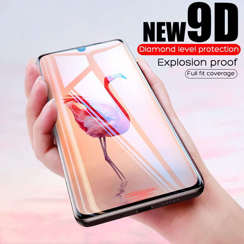 9D Full Cover Tempered Glass For Huawei P20 Lite P20 Pro Glass Screen Protector Protecive Film For Huawei P30 Lite P10 Lite Plus