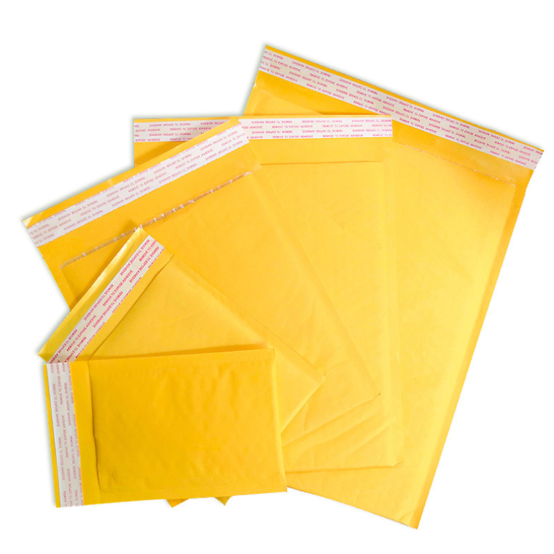 50 PCS Kraft Paper Bubble Envelopes Bags Mailers Padded Poly Shipping Business Envelope Mailing Express Bag Wholesale