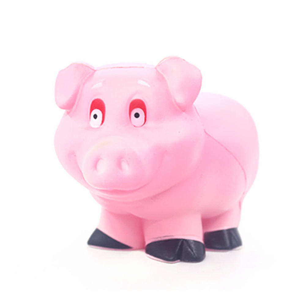 Simulation Cute Pink Pig Super Slow Rising Scented Relieve Stress Toy Funny Gadgets Anti Stress Cute Holiday Gifts #B