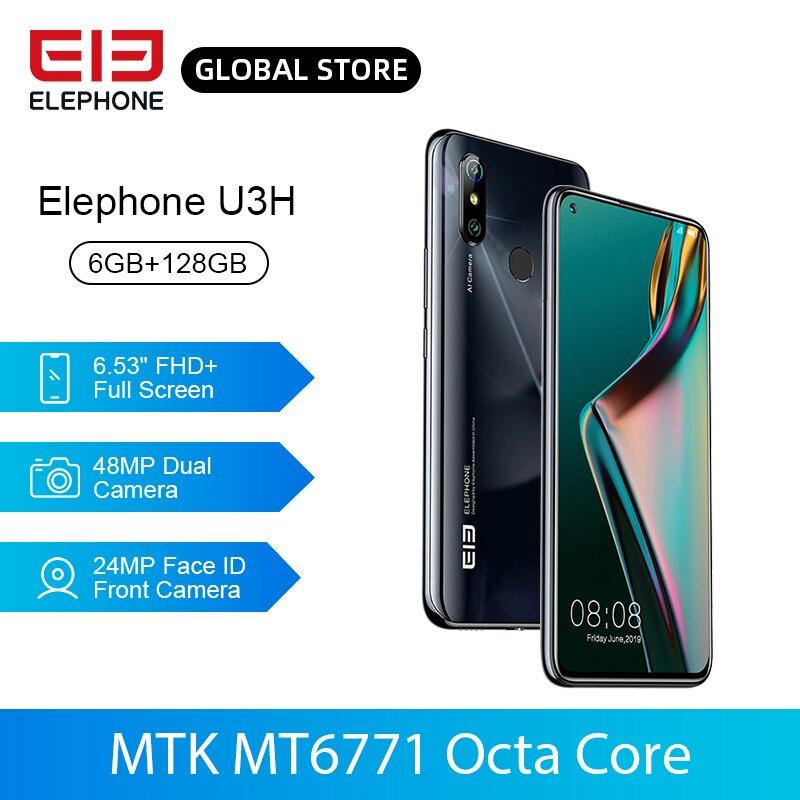 In Stock ELEPHONE U3H Helio P70 Octa Core Smartphone 6GB 128GB 6.53