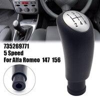 5 velocidade manual do carro alavanca shifter shifter alavanca gearstick acessórios de automóvel 735269771 para alfa romeo 147 156 2000-2010 novo