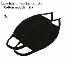 Unisex Anti-Dust Face Mask  Respirator Masks Black Cotton Mouth Mask Breathing Muffle Face Cover Riding Outdoor
