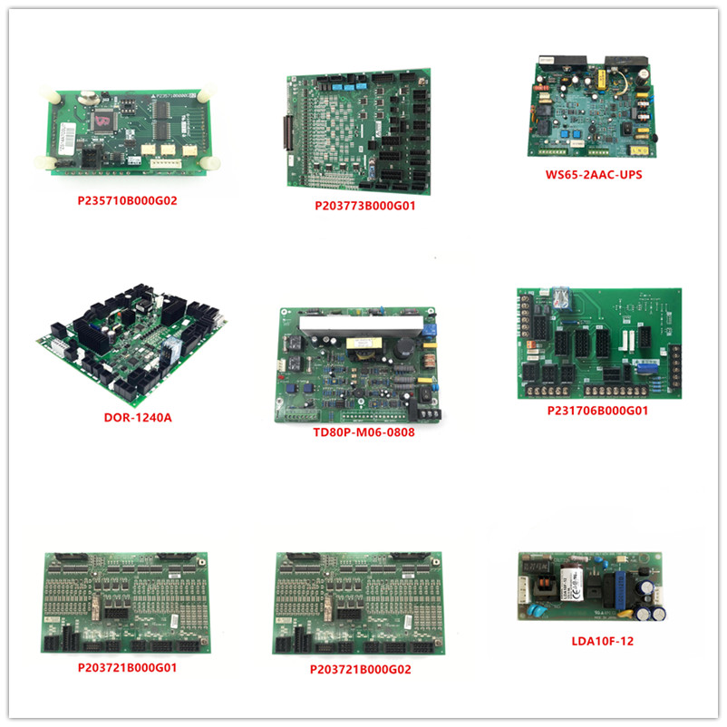P235710B000G02 P203773B000G01 WS65-2AAC-UPS DOR-1240A TD80P-M06-0808 P231706B000G01 P203721B000G01 P203721B000G02 LDA10F-12 Used