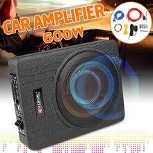 Speaker Amplifier Slim Audio-Bass-Seat Power-Active 10inch Built-In Car Hifi Ultra-Thin
