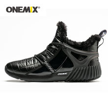 Onemix/Мужская походная обувь; Нескользящие зимние ботинки для