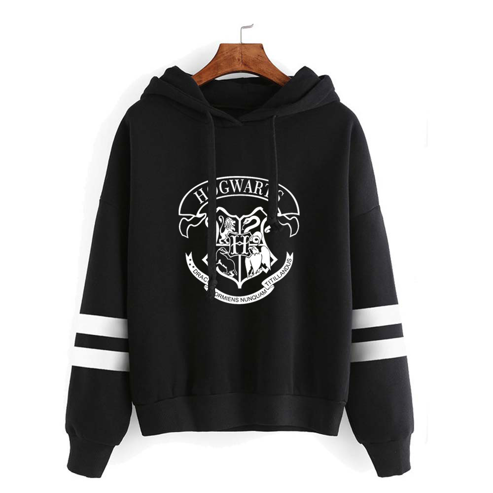 HOGWARTS Printed Sweatshirt Hoodies Women/Men Hogwarts Deathly Hallows For Lady Hoodie Sweatshirts Fashion Fleece Jacket Coat