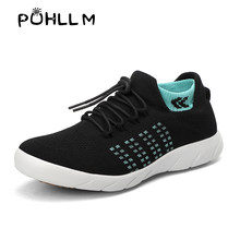 PUHLLM Black Women Sneakers Shoes Ladies Runing Women's Vulcanize Shoes Casual Summer Autumn Sneakers Sport 2019 Fashion B101(China)