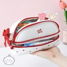 Bag Pencil-Case Trousse Scolaire Kawaii School-Supplies Large Cute Lapicera Etui Estuche
