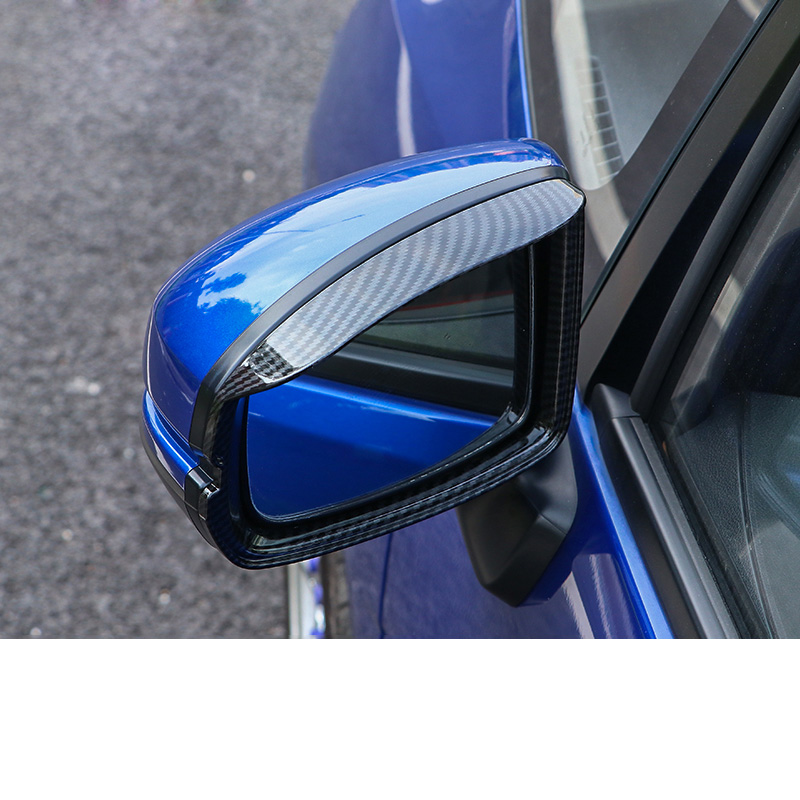 Chrome Side Mirror Strip Pillar A Bracket Moulding Trim For Honda Jazz 2014-2015
