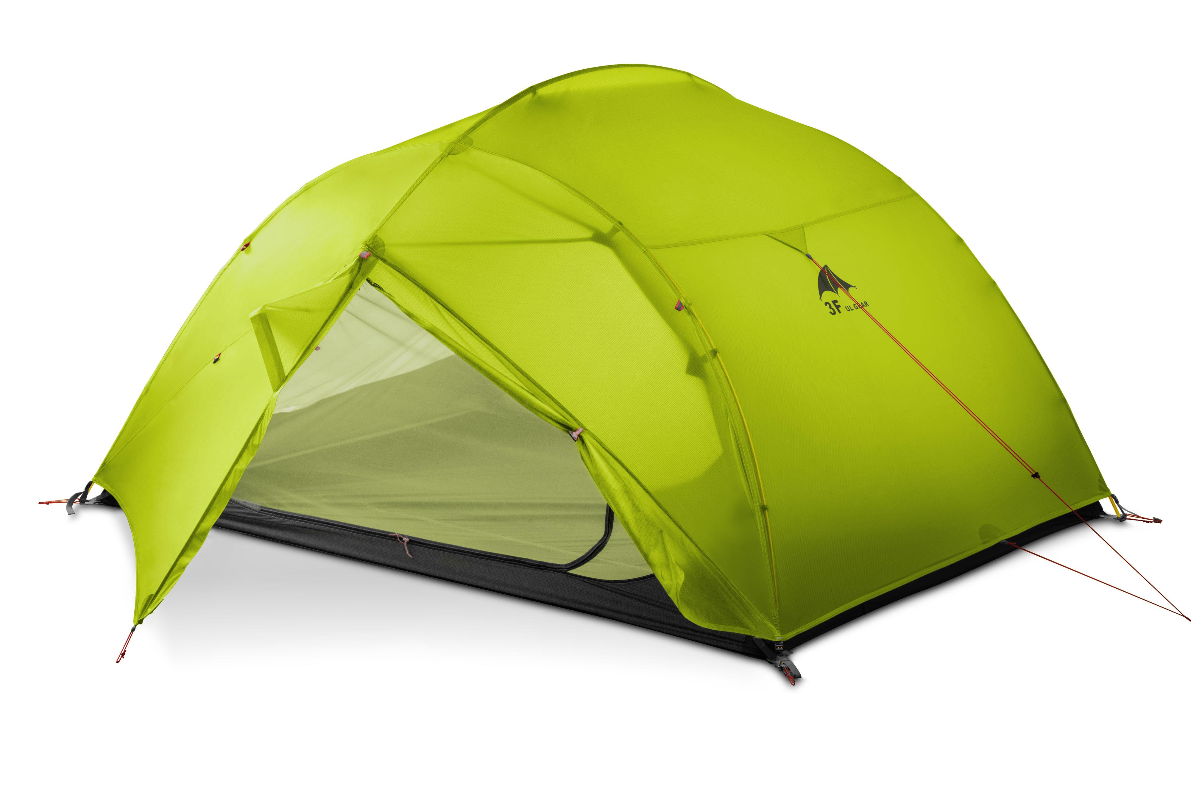 3F UL GETRIEBE 3 Person 3/4 saison 15D Camping Zelt große Wasserdichte Outdoor Ultraleicht Wandern Rucksack Jagd Zelt