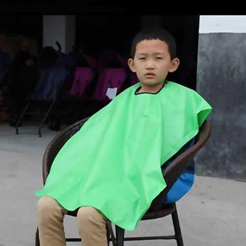 Criança criança salão de beleza à prova dwaterproof água corte cabelo cabeleireiro barbeiros cabo vestido pano