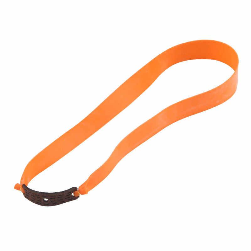 Slingshot Potente Elastico Elastico Piatto Pratico Caccia Sport Catapulta Kit Set di Gomma Fionda Colore Casuale