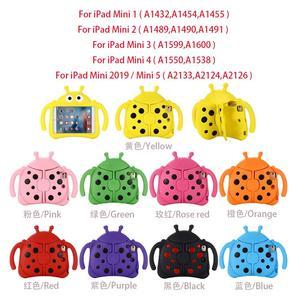 """Image 5 - For iPad mini case 7.9"""" For iPad mini 2019 / mini 5 cover Kids Shockproof tabletas Cover For iPad mini 4 Case For iPad mini 123"""