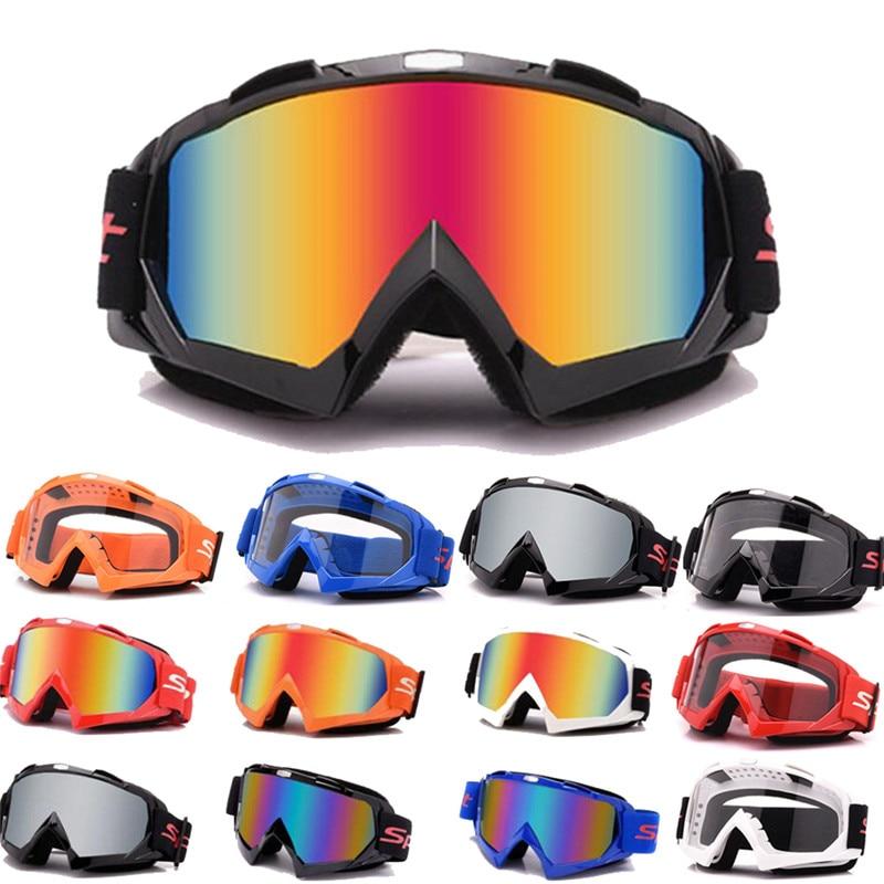 Motocross Motorcycle Glasses Off-Road Racing ATV Dirt Bike Anti-UV Ski Goggles