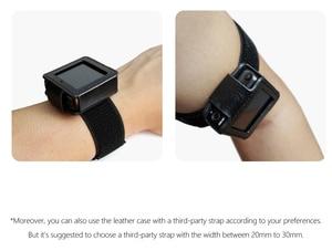 Image 5 - FiiO M5 עור מקרה, מוסיקה נגן mp3 מגן מקרה, DAP עור כיסוי (עם לולאה אלסטית רצועה) שחור, שעון להקת שימוש.