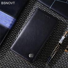For Xiaomi Redmi 7 Case Luxury Leather Card Holder Filp Phone Bag Cover Funda BSNOVT