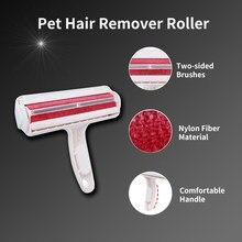Removedor de pêlos do animal de estimação rolo cão gato cabelo móveis removedor de fiapos escova mágica dispositivo eusable pó escova de limpeza ferramentas limpas