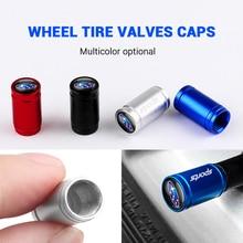 Dust-Cap Tire-Valve-Cap Emblem Wheel Tyre Forest Metal Subaru Car Sport 4pcs Human Lion