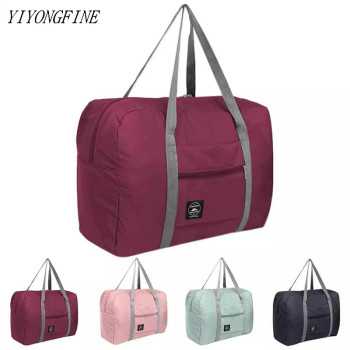 Large Capacity Nylon Travel Bags, Waterproof Folding Duffle Bag Organizer Packing Cubes, Clothing Storage Bag, Weekend Bags - discount item  52% OFF Travel Bags