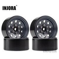 "INJORA Metal 1.9"" Beadlock Wheel Rims 3 Style for 1:10 RC Crawler Car Axial SCX10 90046 Traxxas TRX4 Redcat GEN8 4"