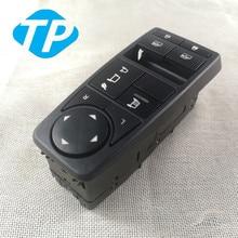Otomatik güç pencere kaldırıcı kontrol anahtarı için geçerlidir adam KAMYON PARÇALARI MAN TGS TGX TGL TGM LHD sürücü tarafı 81258067093 81258067094