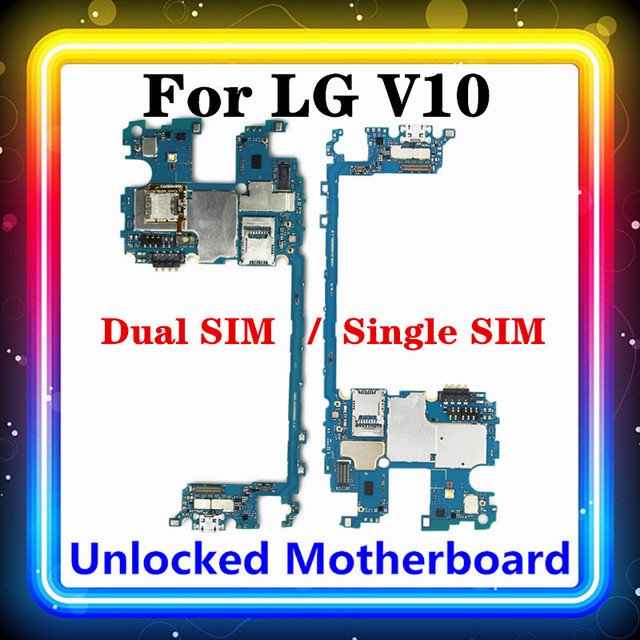 32GB/64GB For LG V10 H960 H960A H962 H961N H900 H901 VS990 F600LSK H968 Motherboard Mainboard Tested Android Installed