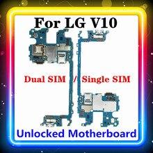 32GB/64GB dla LG V10 H960 H960A H962 H961N H900 H901 VS990 F600LSK H968 płyta główna płyta główna testowane z systemem Android zainstalowany