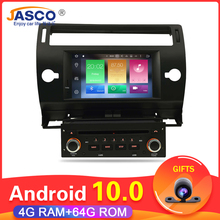 Android 10.0 Car DVD Player GPS Glonass Navi per Citroen C4 C Triomphe C Quatre 2005 2006 2007 2008 2009 Radio Audio Stereo