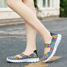 Women Shoes Fashion Sneakers Summer Shoes Ladies Trainers Walking Shoes Female Zapatillas Mujer(China)