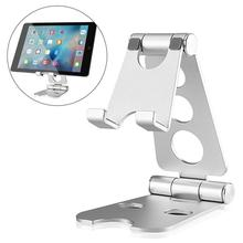 цена на Universal Tablet Stand Holder For iPad Pro 2020 Samsung Xiaomi Huawei Phone Tablet Holder Desktop Aluminum alloy Metal Stand