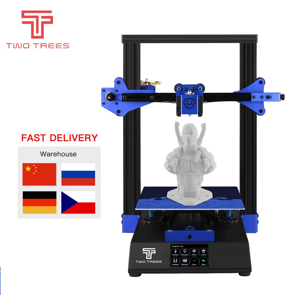 TWO TREES 3D Printer Bluer High precision printing Upgraded Tempered Glass Resume Power Failure Printing DIY KIT Hotbed3D Printers   -