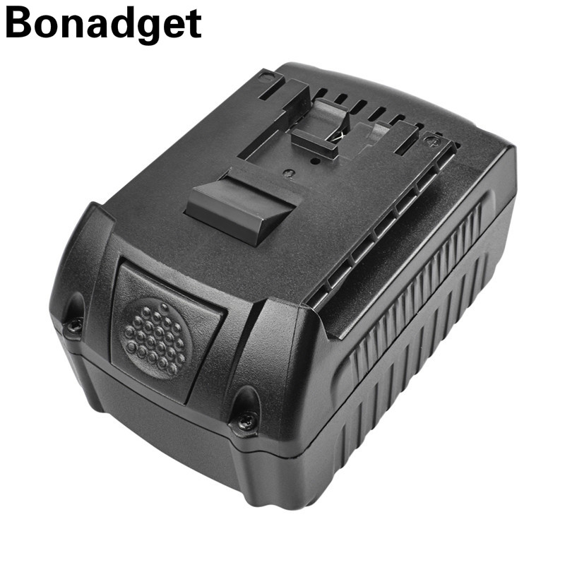 Bonadget 1PCs For <font><b>Bosch</b></font> <font><b>18V</b></font> 6000mAh Power Tools <font><b>Battery</b></font> Rechargeable <font><b>Batteries</b></font> Cordless for <font><b>Bosch</b></font> Drill BAT609 BAT618 3601H61S10 image