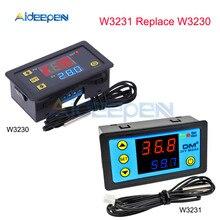 W3230 AC 110 V-220 V DC 12 V Светодиодный дисплей Цифровой термостат Температура Терморегулятор Цифровой регулятор температуры Контрольные приборы Регулятор Обогрев Охлаждение