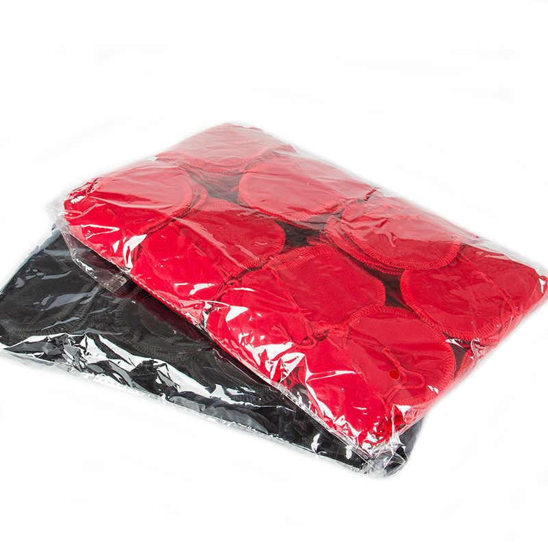 100 sztuk 7x9cm 9x12cm tykwa torba do pakowania sznurkiem aksamitne etui saszetka torba na prezent biżuteria pakowania ślub prezent na Boże Narodzenie torba