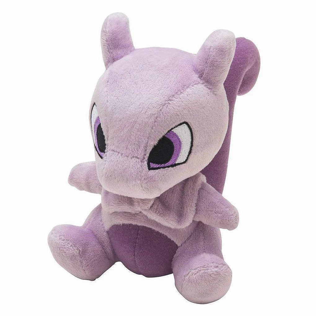 15cm 6 Inch Eevee Mewtwo Mew Action Figure Cotton Plush Doll Toys