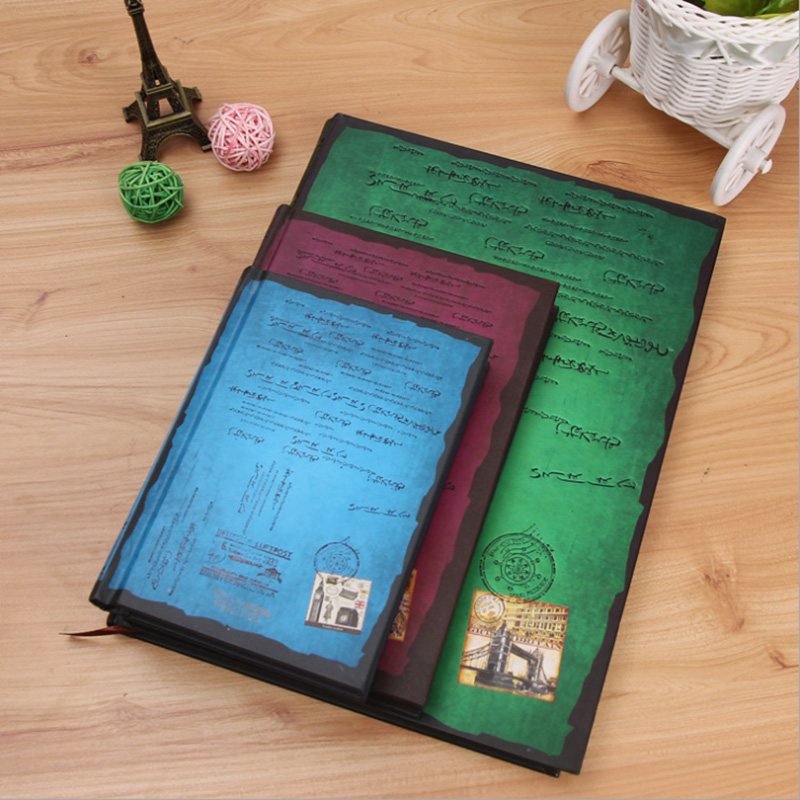 Creative European And American Wind Travel Account Literary Kawaii Notebook Yesterday Reproduce Vintage Magic Notebook
