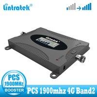 を Lintratek 4 グラム信号ブースター個 1900MHZ Band2 携帯信号ブースター 4 3g リピータ携帯個 1900 Communicaiton アンプ