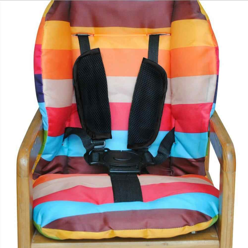 Baby Stroller Safety Belt Adjustable Baby Chair Safety Strap Harness Kids Dining Chair 5 Point Harness Child Pram Seat Belt