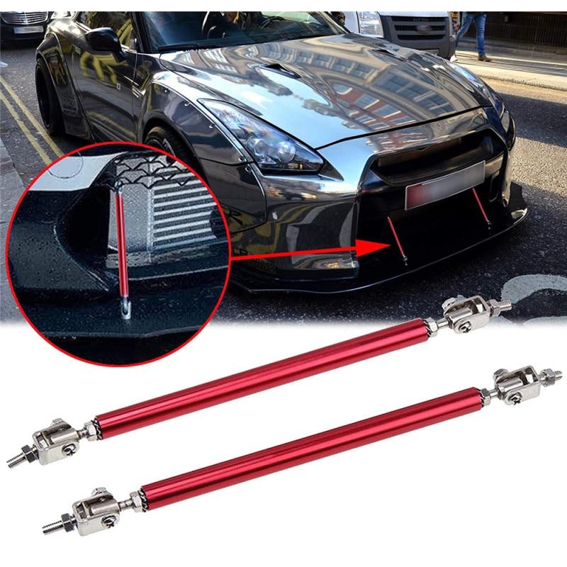 General Car Modification Front Lip Surround Rod Aluminum Alloy Telescopic Car Enclosured Front Lip Surround Rod Car Accessories
