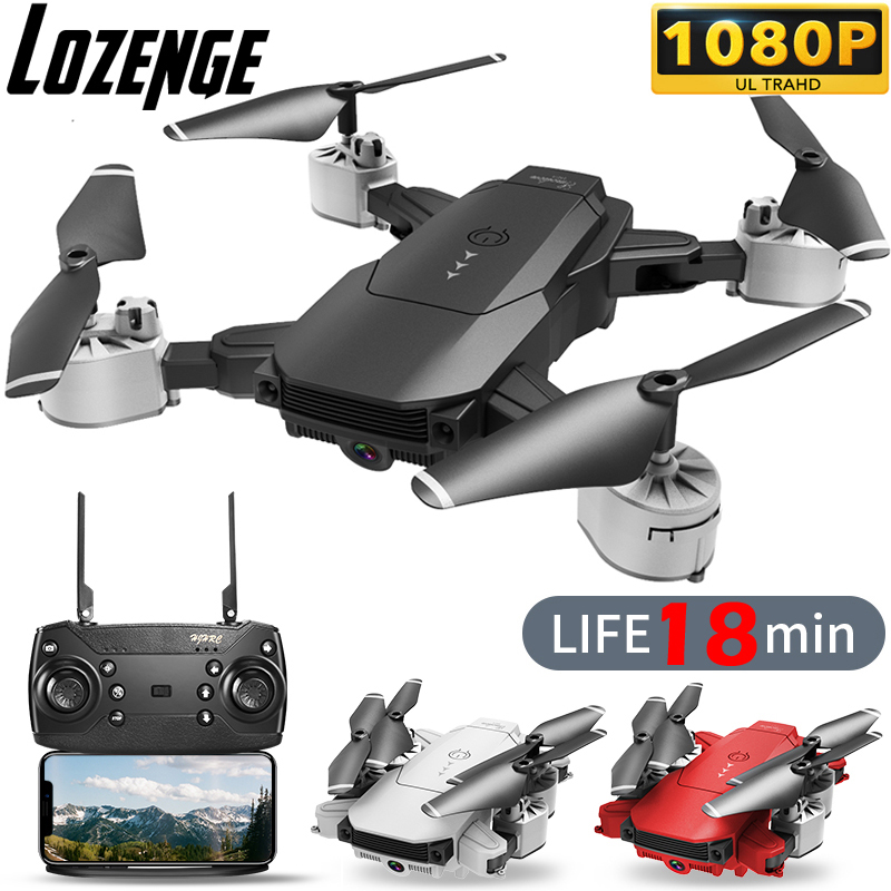 Lozenge HJ29-1 Camera Drone RC Drone Remote Control Helicopter Quadcopter Drone with Camera 1080P Toy Drone