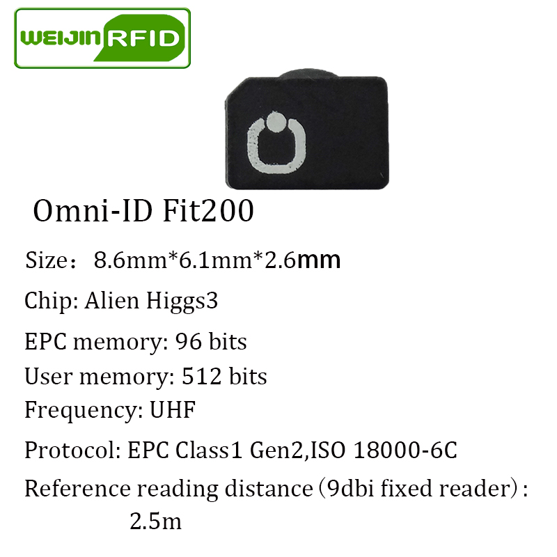UHF RFID антыметалічны тэг omni-ID fit200 fit 200 - Бяспека і абарона - Фота 6
