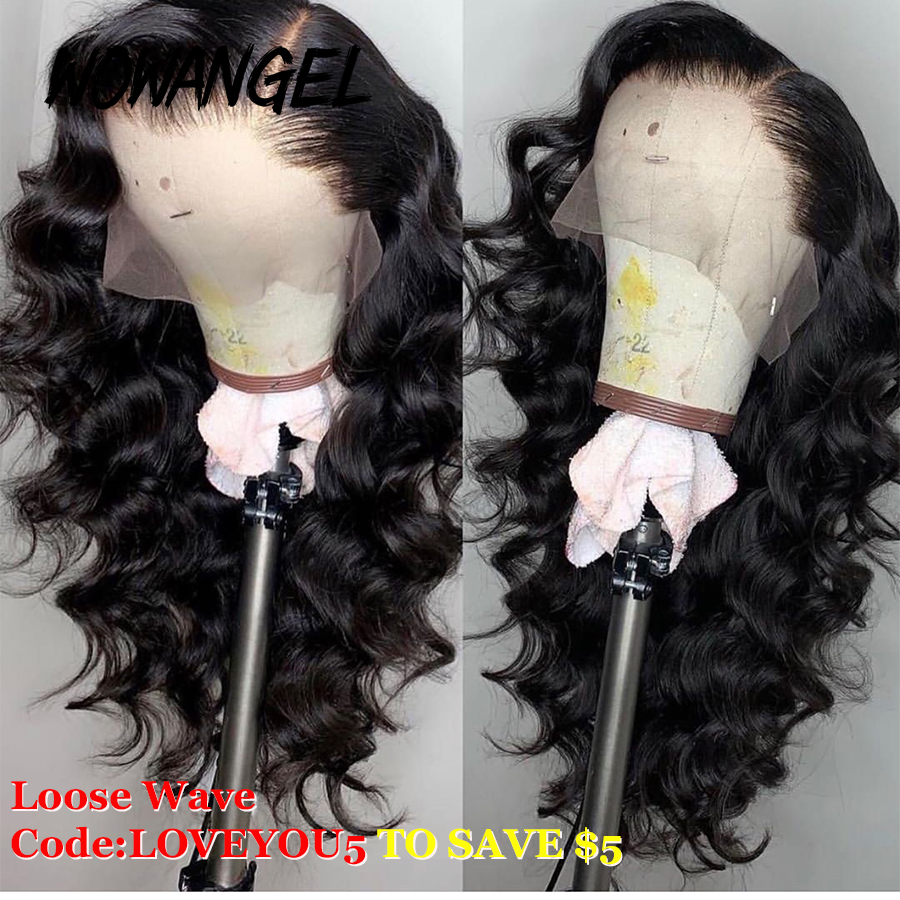 Loose Wave Wig Lace Front Human Hair Wigs Pre Plucked Remy Deep Part Hair Pre Plucked Brazilian 13x6 Lace Frontal Wig