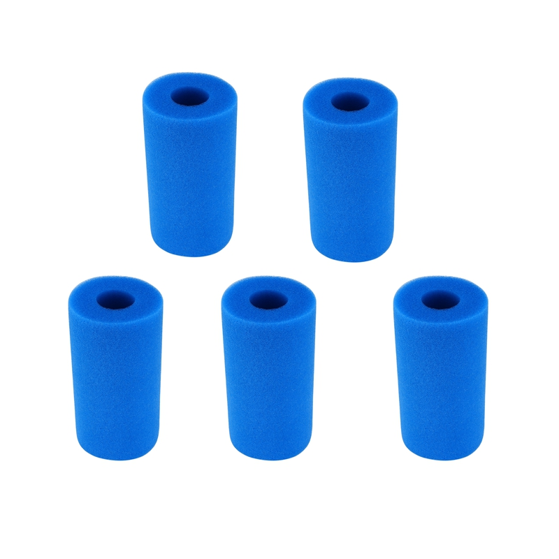5Pcs Foam Filter Sponge For Intex Type A Reusable Washable Swimming Pool Aquarium Filter Accessories