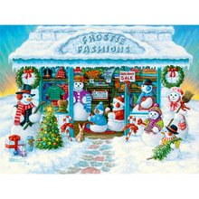 5D Diamond Painting Snowman Cross Stitch DIY Embroidery Mosaic Picture Of Rhinestones Landscape Xmas Home Decor