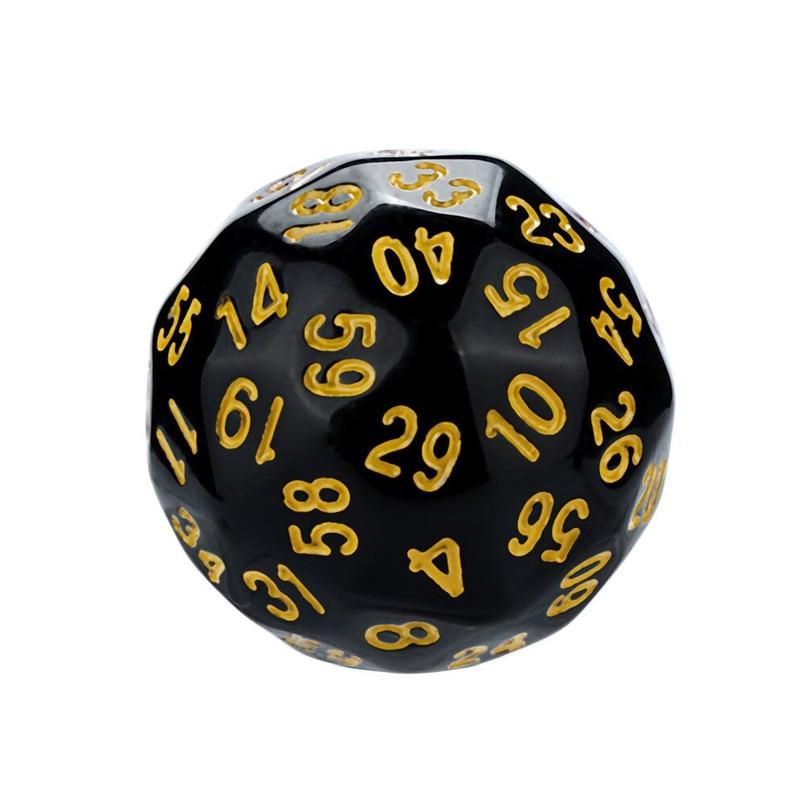Polyhedron D60 poly dice game dice acrylic dnd dice sets dados poliedricos brand new dados rpg dice tray dice set d60 30A20 (6)