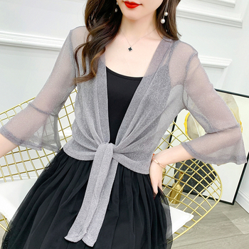 Bolero Femme Mariage Lace Wedding Jacket Wrap Half Sleeve Open Front Sheer Shrugs For Women Shawl Bridal Cardigan Tops - discount item  29% OFF Wedding Accessories