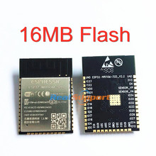 10 pces ESP32 WROOM 32D 16 mb de memória flash wi fi + bt + ble esp32 módulo espressif original