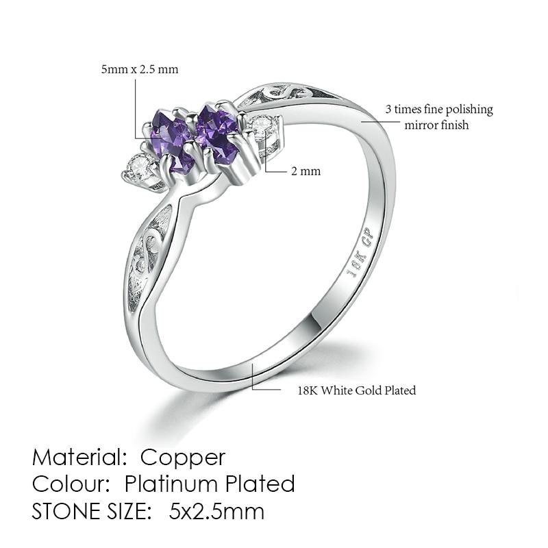 ZHOUYANG кольцо для женщин, простой стиль, кубический цирконий, свадебное кольцо, светильник, золотой цвет, модное ювелирное изделие KBR103 - Цвет основного камня: R672