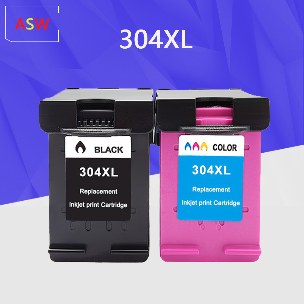 Ink Cartridge 304XL New Version For Hp304 Hp 304 Xl Deskjet Envy 2620 2630 2632 5030 5020 5032 3720 3730 5010 Printer
